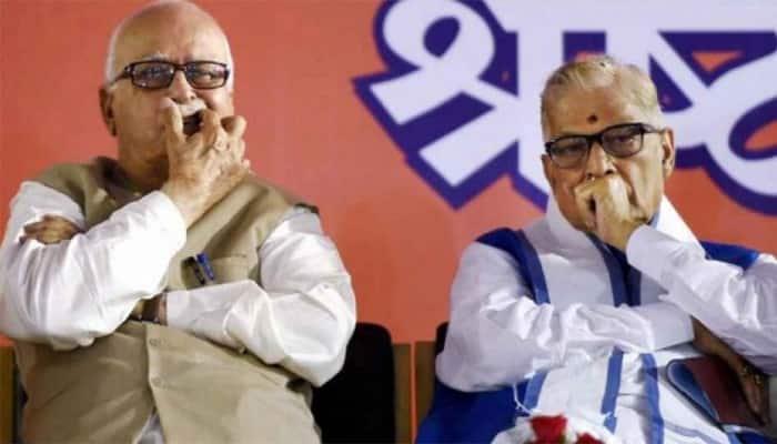 Lok Sabha election: Amit Shah meets BJP veterans LK Advani, Murli Manohar Joshi