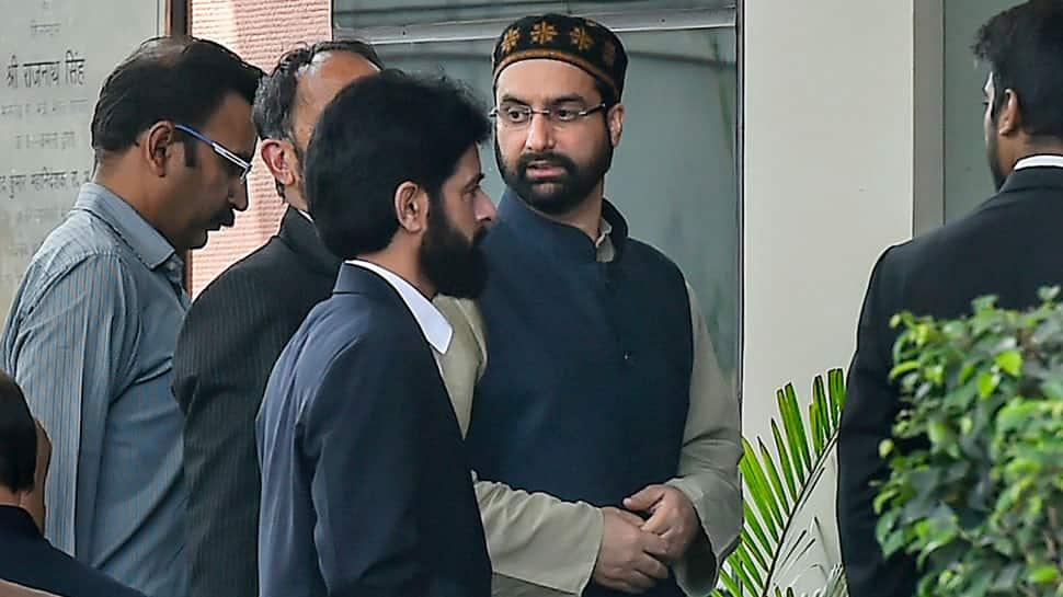 Terror funding case: Mirwaiz Umer Farooq appears before NIA again