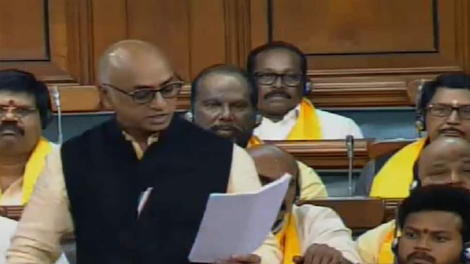 TDP says I-T department has conducted raid at MP Galla Jaydev's residence