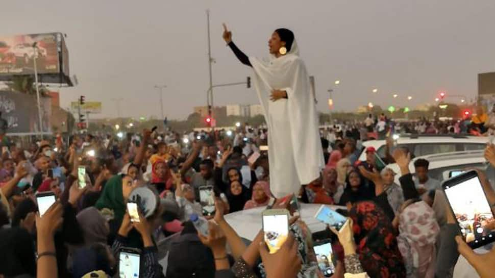 This iconic photo from anti-government protests in Sudan has gone viral