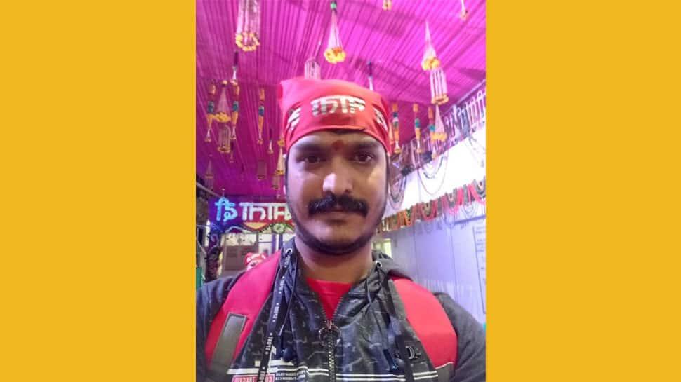 Babbar producer Vijay Kumar Gupta visits Mata Vaishno Devi shrine, prays for success of Arvind Akela Kallu starrer