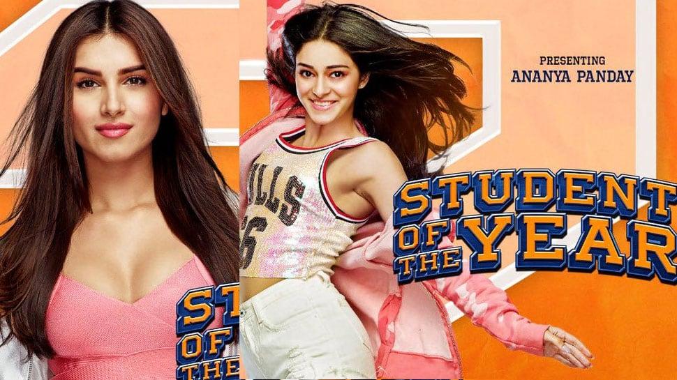 Student of the Year 2: Karan Johar shares new posters featuring Ananya Panday, Tara Sutaria