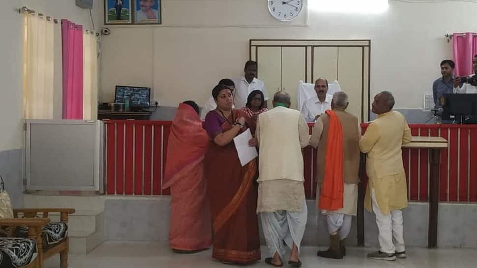 Lok Sabha election: Smriti Irani files nomination from Amethi constituency