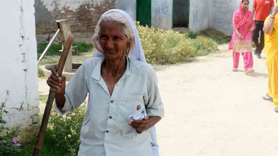 50 per cent electorate cast their vote till 3 pm in Uttar Pradesh