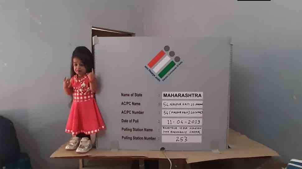 Lok Sabha election 2019: World's shortest woman Jyoti Amge votes in Nagpur