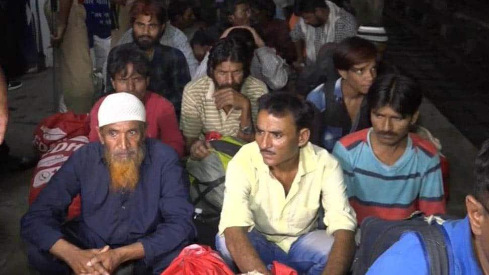 100 Indian fishermen, released from Pakistan, arrive in Vadodara