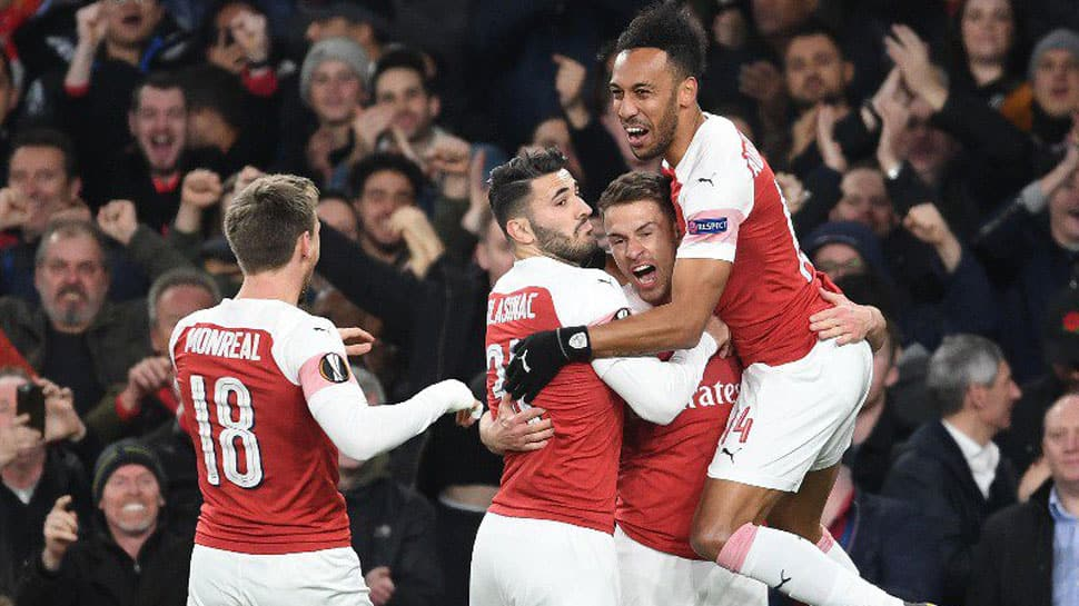 Arsenal register 2-0 win over Napoli in Europa League