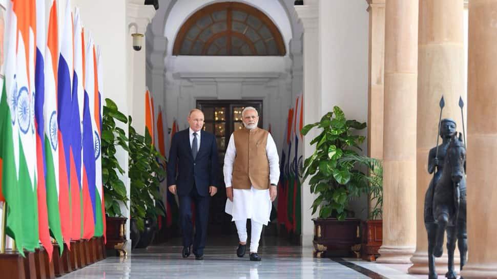 PM Narendra Modi thanks President Vladimir Putin after Russia confers him highest state honour