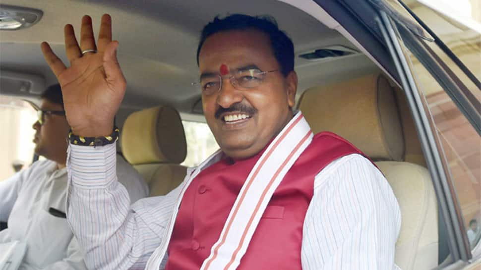 Choose between one who gives befitting reply to enemy or one who winks in Parliament: Keshav Prasad Maurya