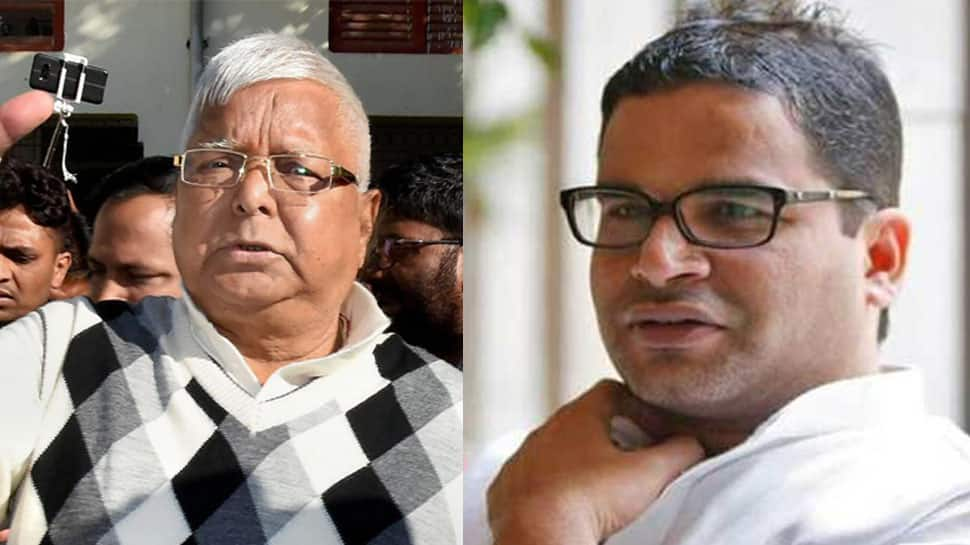 Prashant Kishor challenges Lalu for debate to expose truth on RJD-JD(U) merger claims