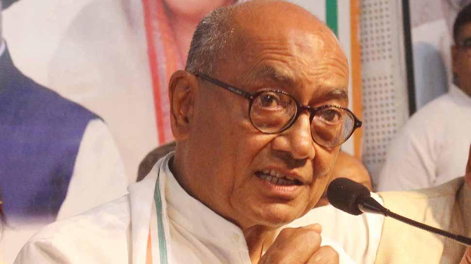 Lok Sabha poll: Digvijaya Singh's gesture on Bhopal Ram temple riles BJP