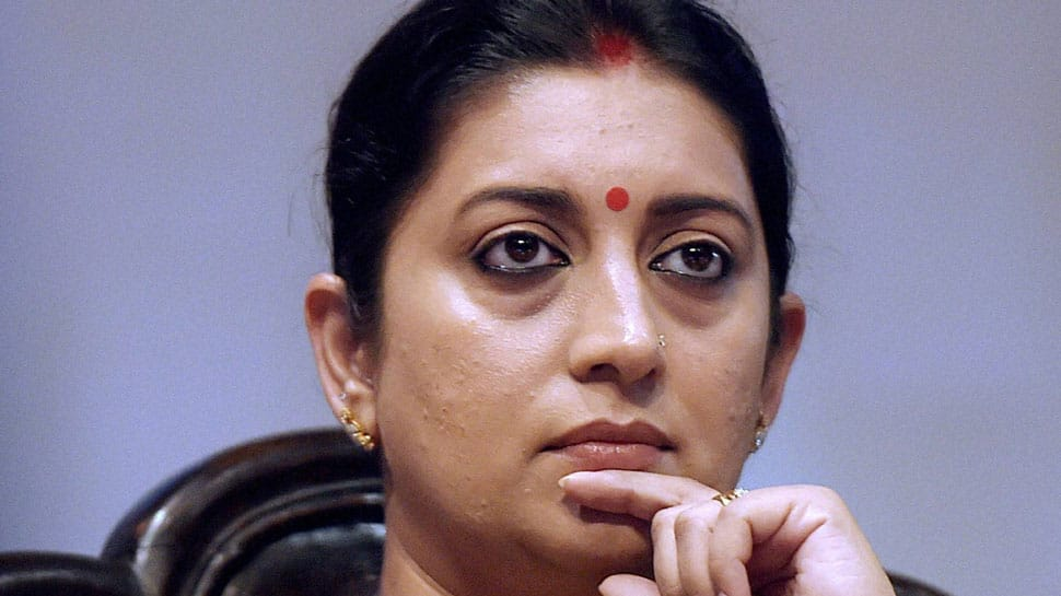 Case filed against Smriti Irani for submitting 'wrong' information in election affidavit