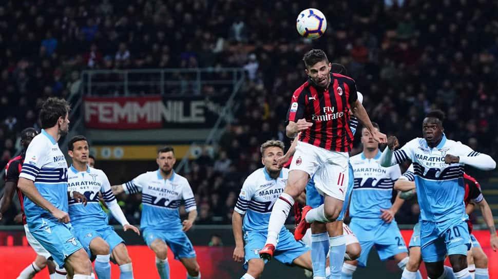 AC Milan beat Lazio 1-0 in key Serie A top-four battle