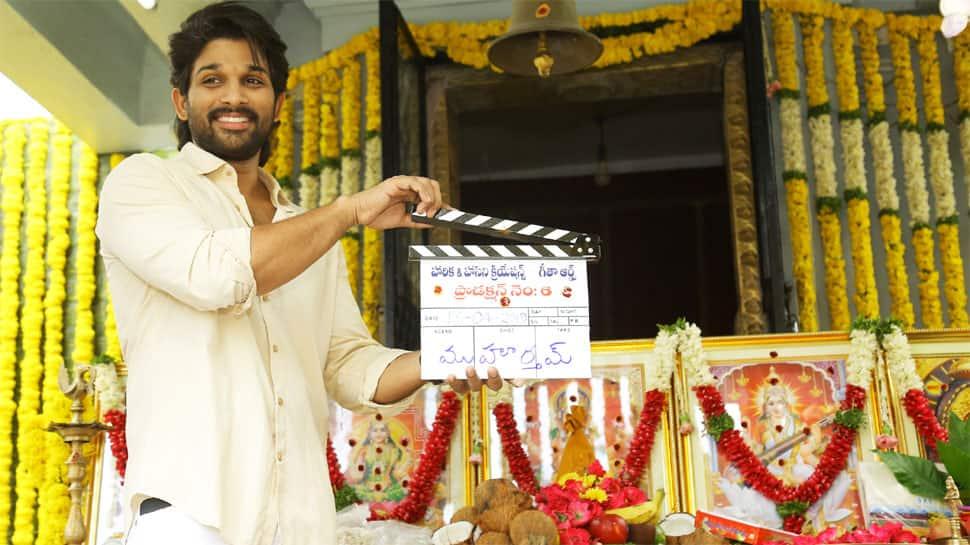 Allu Arjun and Trivikram Srinivas' film to go on floors from April 24