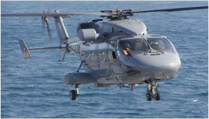Indian Navy loses Chetak helicopter in Arabian Sea