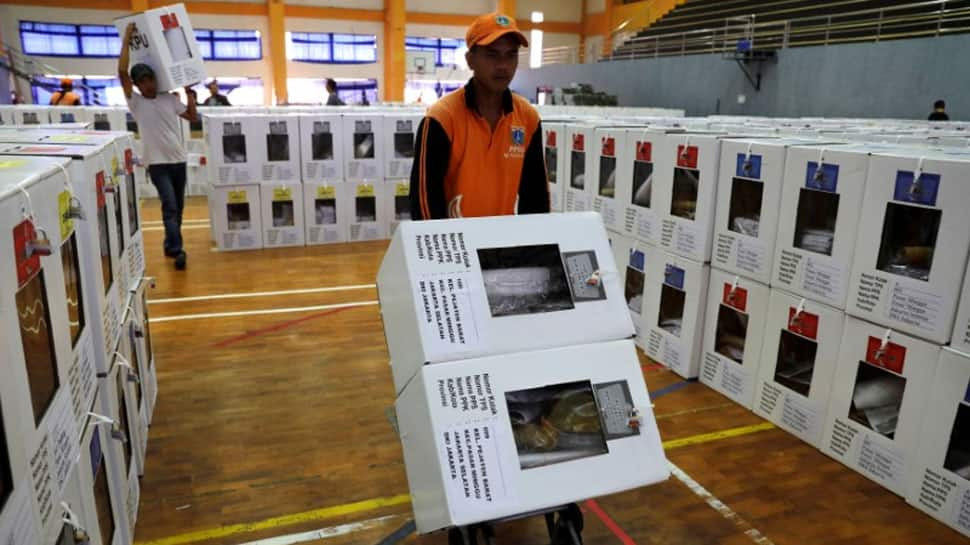 Indonesia votes for new president, parliament in world`s biggest single-day election