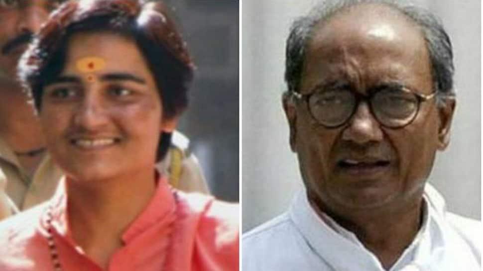 Lok Sabha election 2019: BJP's Sadhvi Pragya vs Congress' Digvijaya Singh in Bhopal
