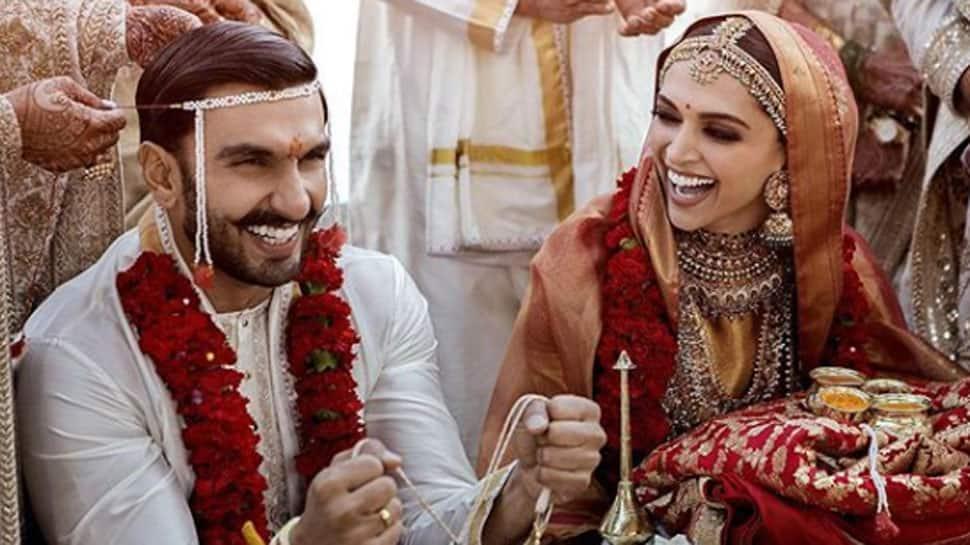 Deepika Padukone-Ranveer Singh make perfect couple at wedding