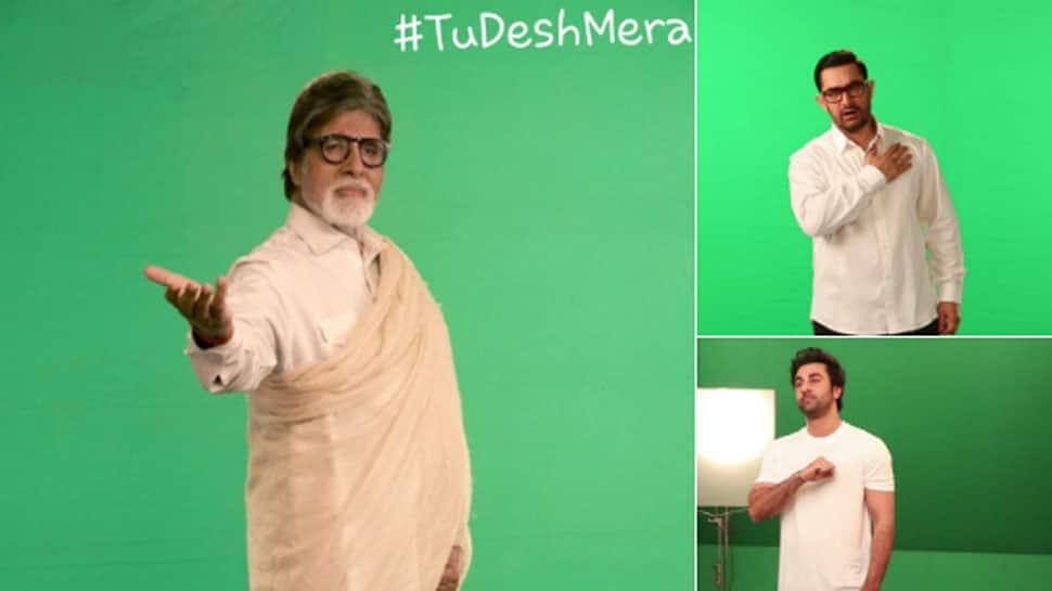 Amitabh Bachchan, Aamir Khan and Ranbir Kapoor pay tribute to Pulwama martyrs in 'Tu Desh Mera' song—See pics