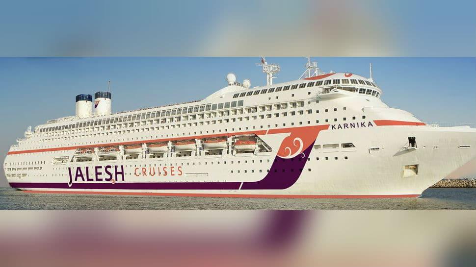 Jalesh Cruises christens India's first premium cruise ship as 'Karnika'