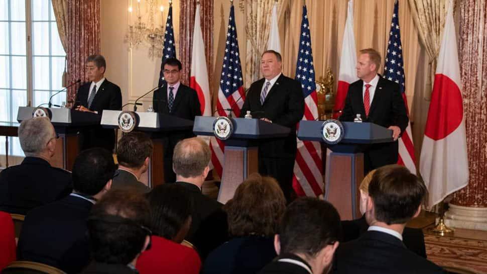 US-Japan 2+2 dialogue: Focus on increasing ties with India, Australia, South Korea