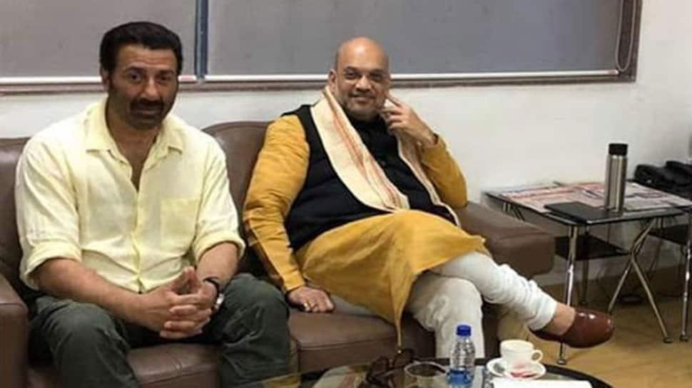 Amit Shah meets filmstar Sunny Deol, BJP may field him from Punjab