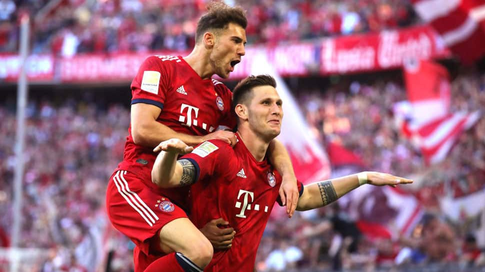 Niklas Sule winner keeps Bayern on track for Bundesliga title