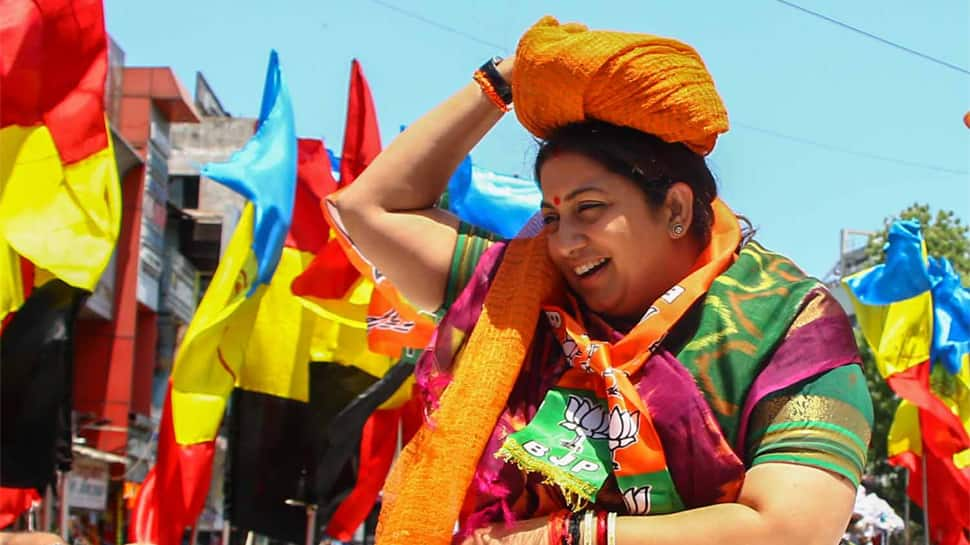 Bid adieu to 'missing MP', Smriti Irani urges Amethi voters; offers sugar at Rs 13 a kg as deal sweetener