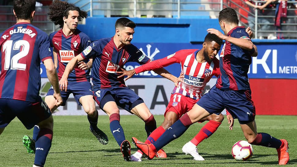 La Liga: Thomas Lemar leaves it late to give Atletico Madrid win at Eibar
