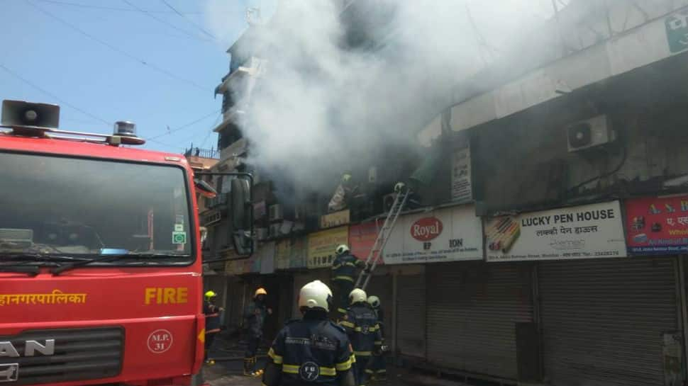 Fire breaks out in Mumbai's Crawford Market; several shops gutted, none hurt
