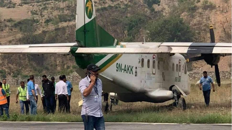 Plane skids off runway in Nepal, no casualties reported