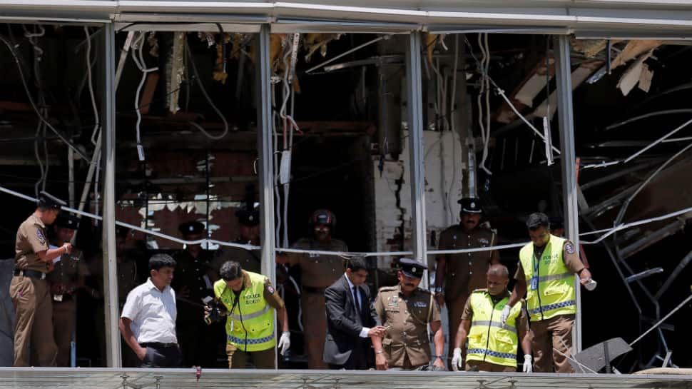 All suicide bombers in Sunday's attacks are believed to be Sri Lankan nationals: Minister