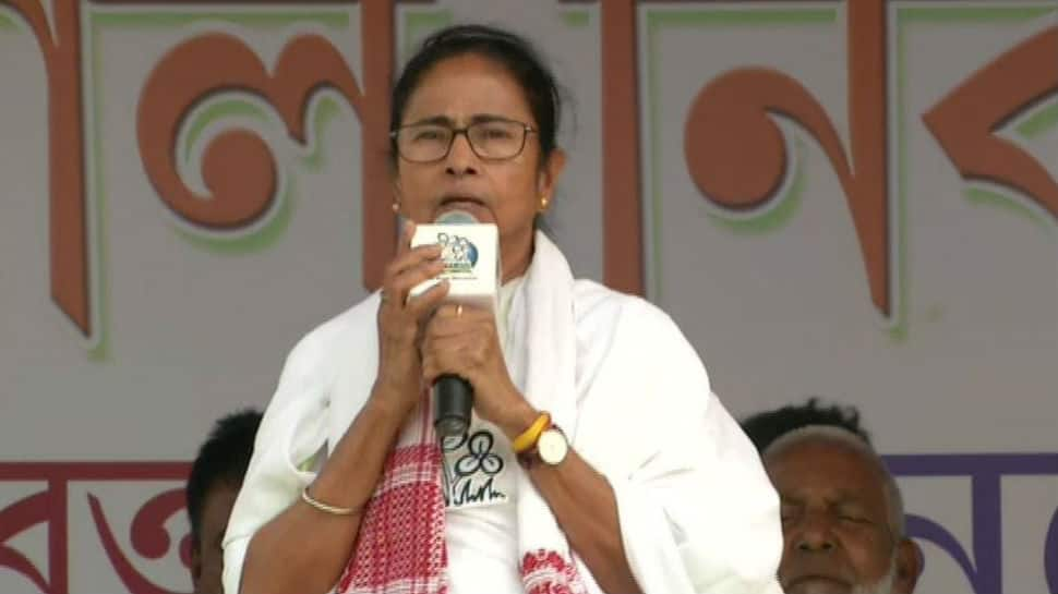 Central forces asking people to vote for BJP in West Bengal, claims Mamata Banerjee