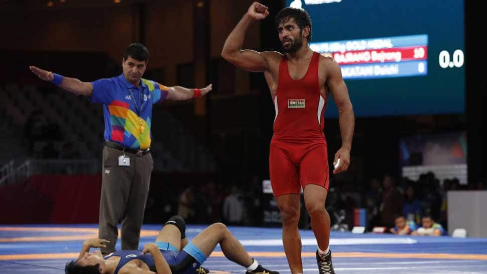 Bajrang Punia hands India its first gold at Asian Wrestling Championships 2019