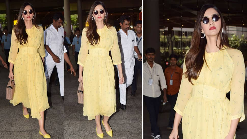 Sonam Kapoor is the eternal sunshine in this yellow dress—See pics