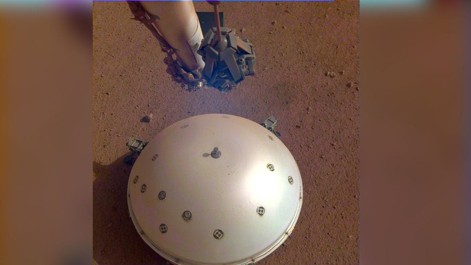 Marsquake! NASA`s InSight detects first-ever seismological tremor on another planet