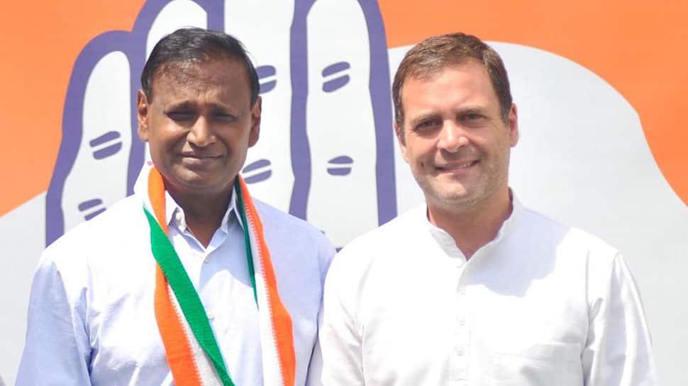 North West Delhi MP Udit Raj joins Congress after BJP denies him ticket