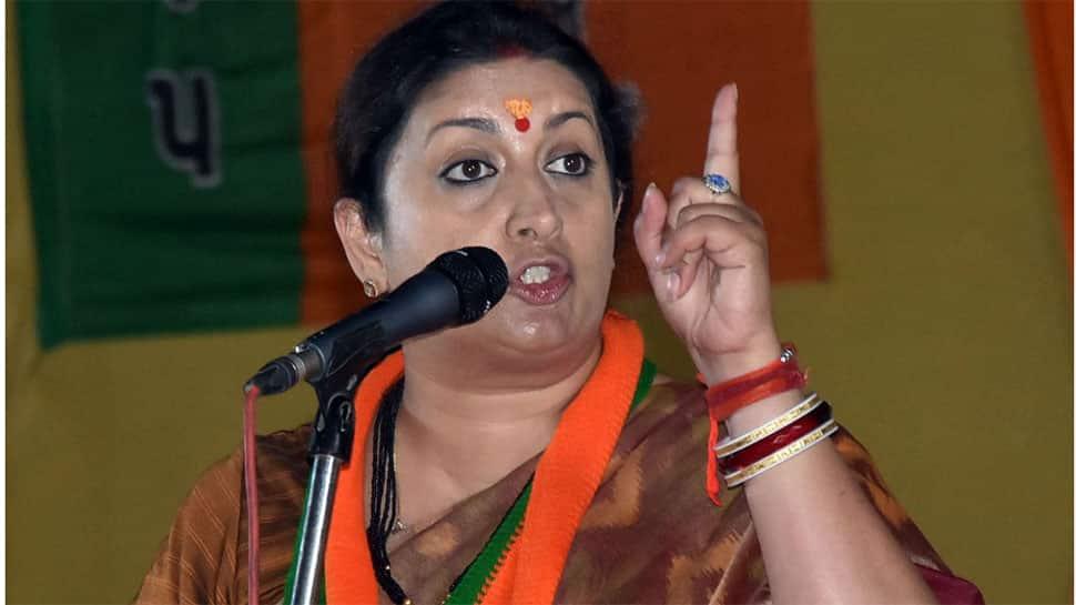 Amethi's 'missing MP': Smriti Irani takes a dig at Rahul Gandhi