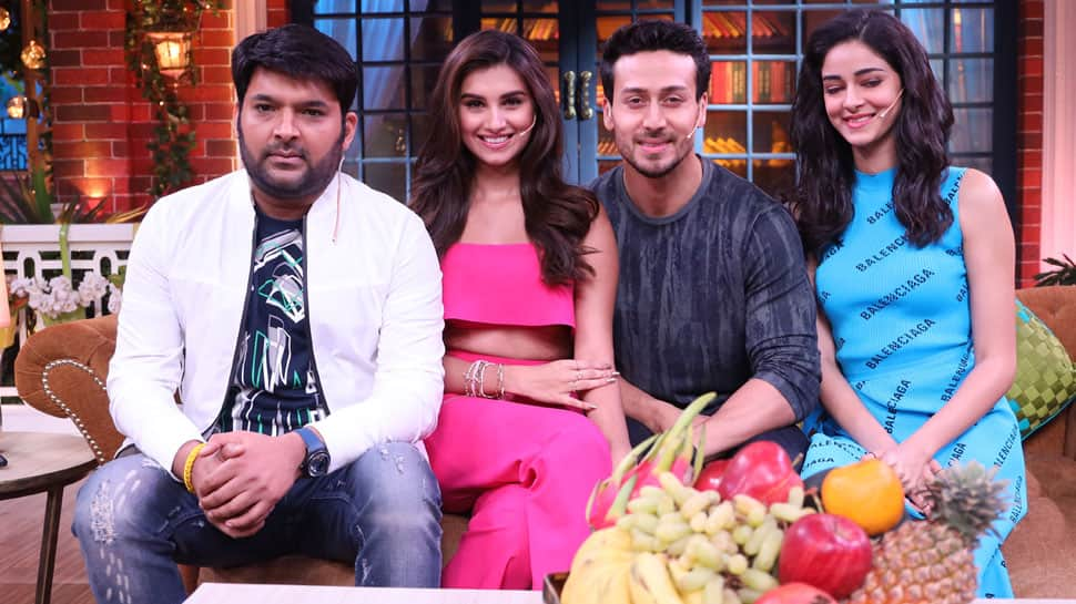 Tiger Shroff, Tara Sutaria and Ananya Panday promote 'SOTY 2' on Kapil Sharma's comedy show—See pics