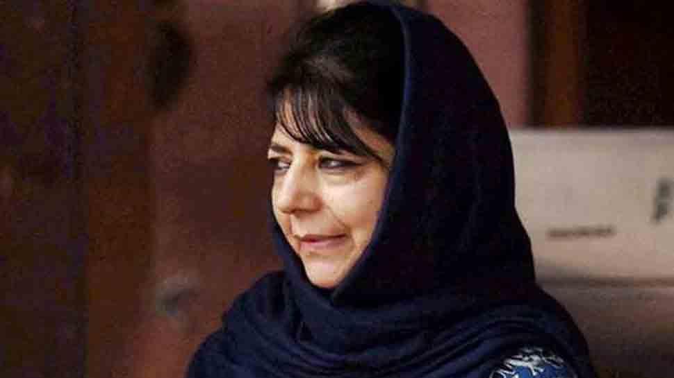 Mehbooba Mufti slams ED for sending summons to Shabir Ahmad Shah's daughter