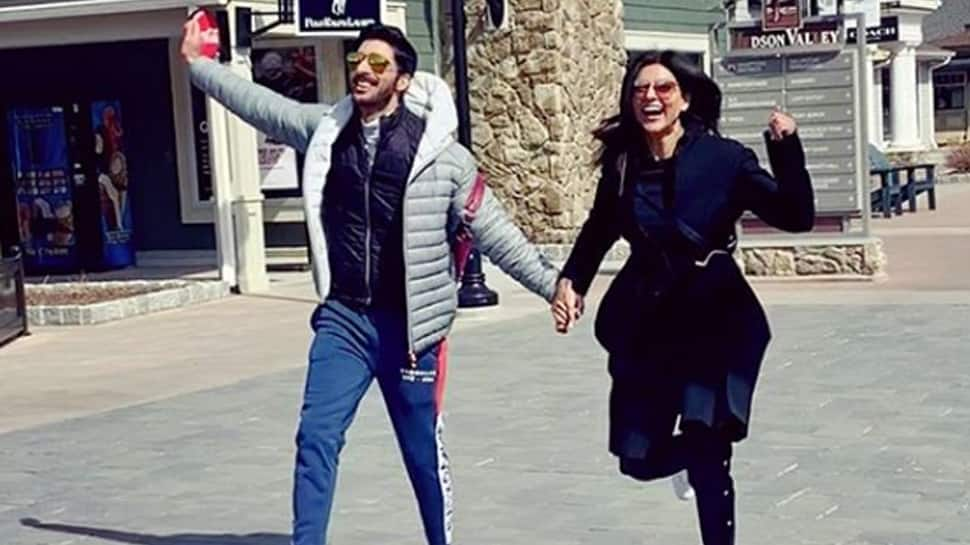 This pic of Sushmita Sen and Rohman Shawl from New York is unmissable!