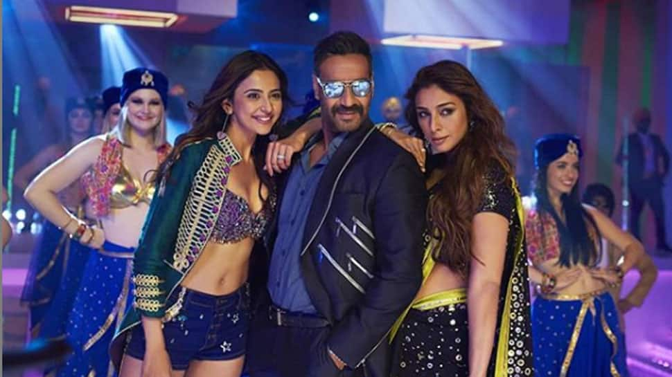 Hauli Hauli song: Ajay Devgn, Tabu and Rakul Preet Singh groove to Punjabi dance beats—Watch