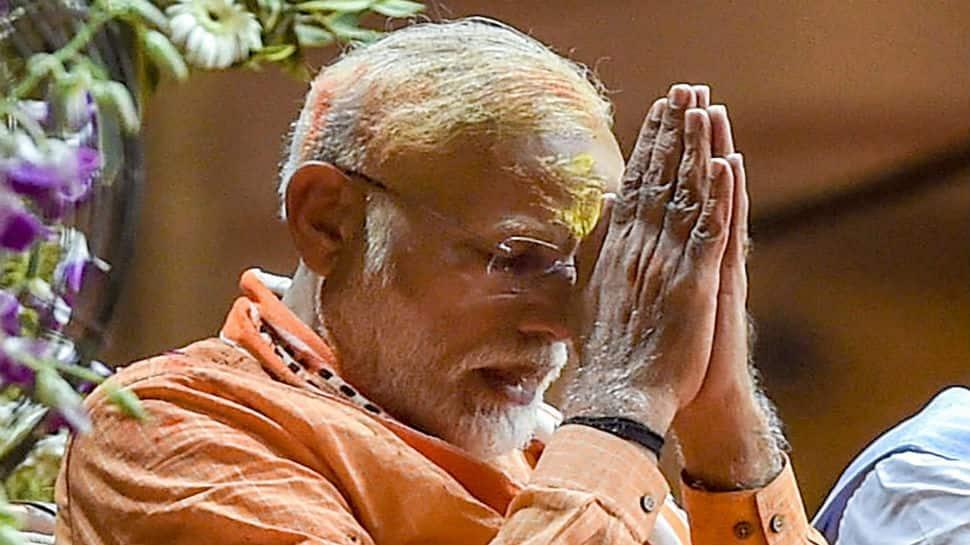 PM Narendra Modi has bank balance of Rs 4,142, one property, no cars