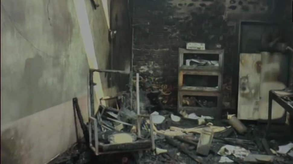 Manipur school burnt down after administration takes action against some students