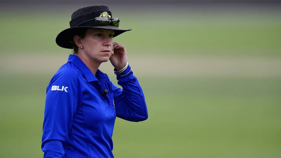 Meet Claire Polosak, the first woman umpire in men's ODI