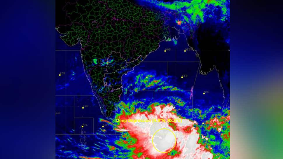 Depression over Indian Ocean very likely to intensify into a cyclone storm