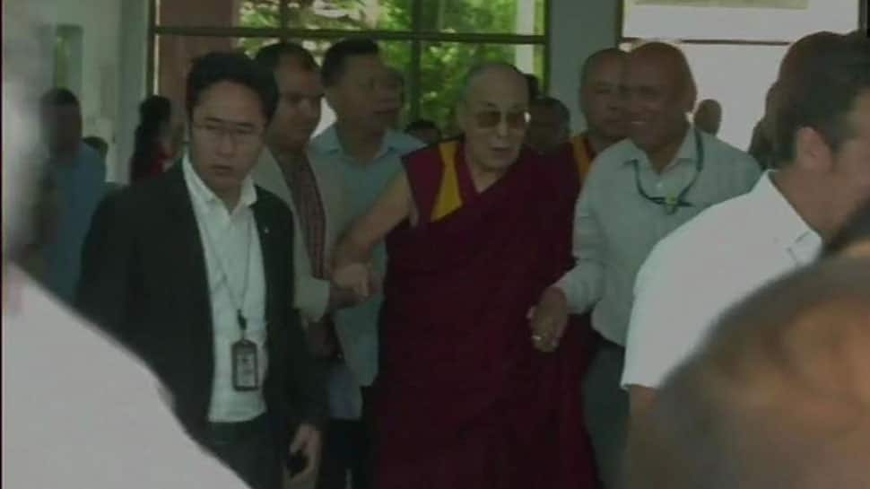 Dalai Lama discharged from Delhi hospital, reaches Dharamshala