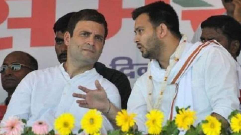 Complaint filed against Rahul Gandhi, Tejashwi Yadav in Bihar over 'chowkidar chor hai' slogan