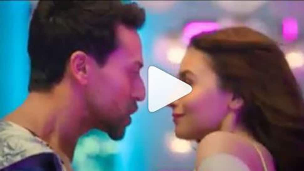 Alia Bhatt shares a teaser of her 'Hook up' song with Tiger Shroff-Watch