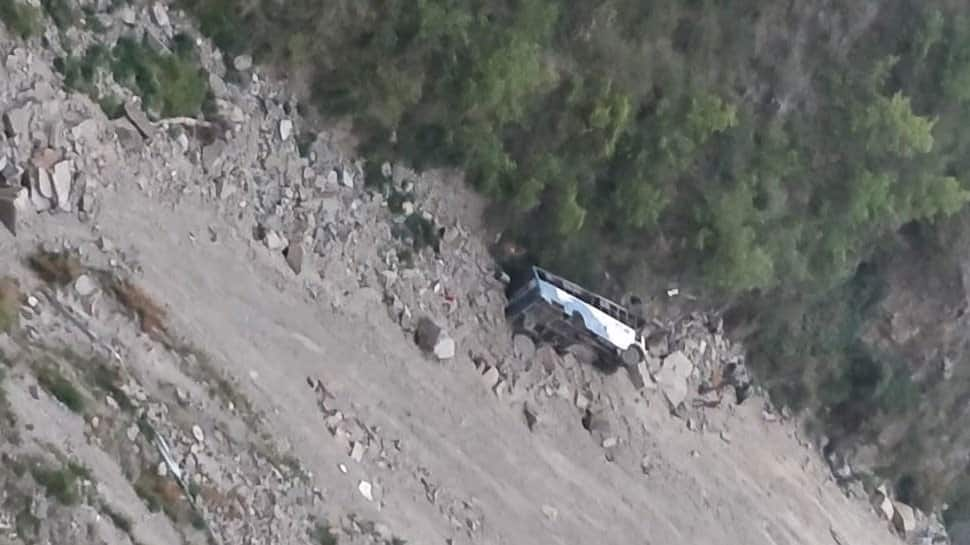 12 dead as bus falls in 200-feet deep gorge in Himachal's Chamba